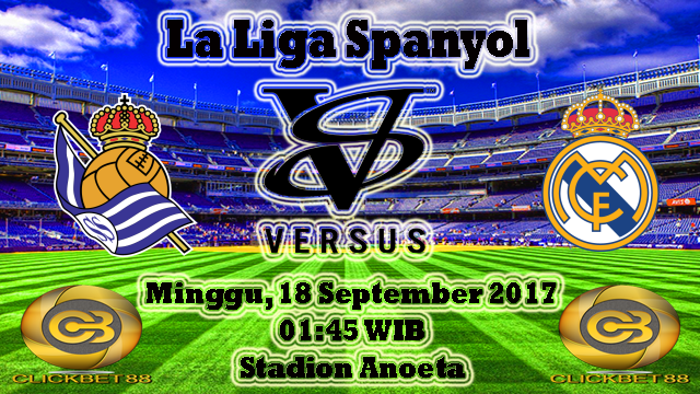 Prediksi Bola Biru Real Sociedad VS Real Madrid